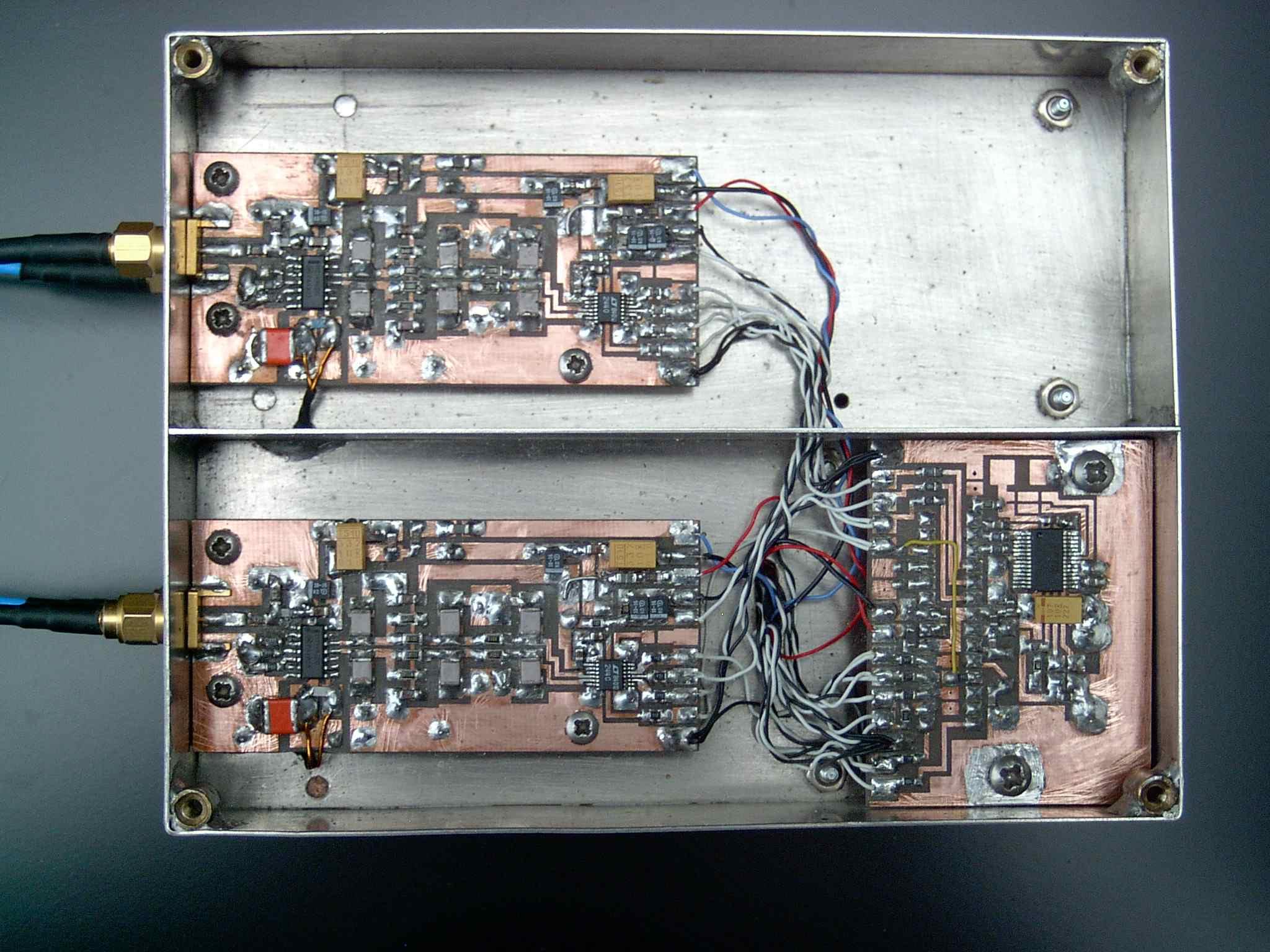 detector & ADC & micro-controller
